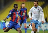 CSKA's Doumbia and Cauņa down Trabzonspor