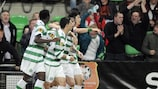 Celtic recovered from the concession of a bizarre own goal