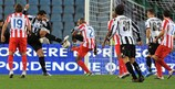 Mehdi Benatia puts Udinese ahead against Atlético on matchday three
