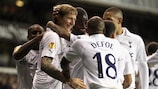 Tottenham's game against PAOK is their 150th UEFA competition fixture