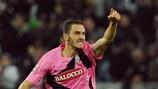 Leonardo Bonucci fête l'ouverture du score contre la Fiorentina
