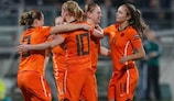 The Netherlands are the only one of the four 2009 semi-finalists leading their group