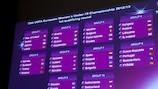 Die Auslosung zur ersten Qualifikationsrunde 2012/13