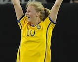 Sofia Jakobsson scored in the first minute