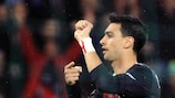 Pastore points the way for PSG in Slovan win