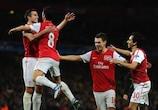 Arsenal's Van Persie hailed as 'one of best in Europe'