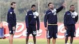 O Nápoles prepara o embate decisivo do Grupo A com o Manchester City