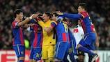 Basel durfte sich in der letzten Saison über einen Sieg gegen Manchester United freuen