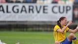 A Suécia é presença habitual na Algarve Cup