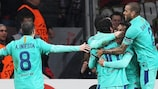 Sánchez and Messi put Barcelona in control