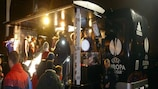 The UEFA Europa League Truck Tour got back into the swing of things in Stoke