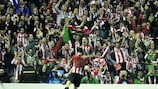 Athletic savour night to remember
