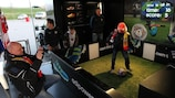 The UEFA Europa League Truck Tour has plenty to entice football fans of all ages