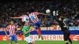 Salvio strike tips balance in Atlético's favour