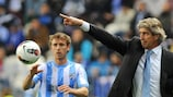 Málaga will look to Manuel Pellegrini's experience in their first UEFA Champions League campaign