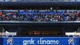 Das Stadion Maksimir, Heimat von Dinamo Zagreb