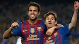 Messi sets new mark as Barcelona see off Milan