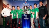 Digressão do troféu termina em alta em Xangai
