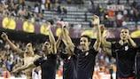 Atlético traf bereits im Halbfinale auf einen spanischen Kontrahenten