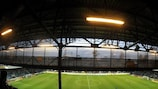 Stadion u Nisy - the home of Slovan Liberec