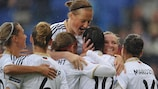 Germany scored freely in qualifying