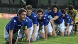 Željezničar celebrate regaining the Bosnian title