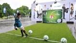 Приготовления ко Дню массового футбола УЕФА