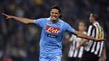 Edinson Cavani marcó en la final ante la Juventus