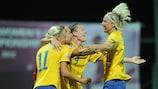 Sweden awaits Women's EURO boost