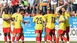 Growing Dudelange up against Salzburg