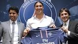 El PSG confirma a Ibrahimović