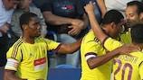 Anzhi hat das Hinspiel 1:0 gewonnen