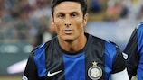 Javier Zanetti has been Inter captain for more than a decade