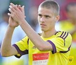 Arseni Logashov è uno dei giovani talenti russi in forza all'Anzhi