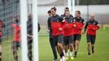 Blithe PSG await Dynamo test