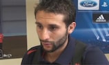 Djamel Abdoun habló con UEFA.com