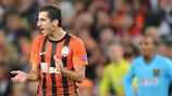 Henrik Mkhitaryan in action for Shakhtar in the 2012/13 UEFA Champions League