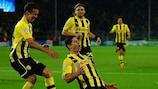 Robert Lewandowski celebra su gol ante el Ajax