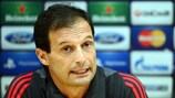 El Milan de Massimiliano Allegri no arranca en la Serie A