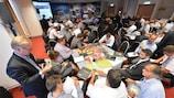 La conferencia UEFA-EU es importante para la vigilancia en los estadios y la seguridad