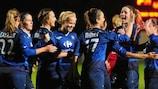 Juvisy est l'une des deux équipes françaises opposées à un adversaire suédois