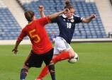 Emma Mitchell en action pour l'Écosse