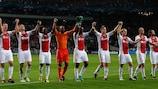 El Ajax celebra su triunfo ante el City