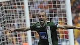 Rúben Micael celebra su gol en la primera mitad en Estambul