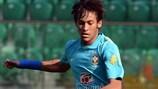 La estrella de Brasil Neymar jugará en el equipo de Ronaldo en Porto Alegre