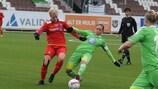O Wolfsburgo empatou (1-1) no terreno do Røa e segue em frente