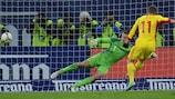 Gabriel Torje erzielte das Siegtor für Rumänien