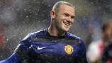 Wayne Rooney marcó en la segunda mitad para el United ante el Braga