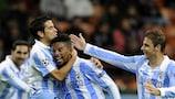 Eliseu y el Málaga han brillado en la UEFA Champions League