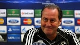 Huub Stevens had been out of work since leaving Schalke in December 2012